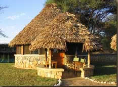 Bungalow at Tarangire Safari Lodge